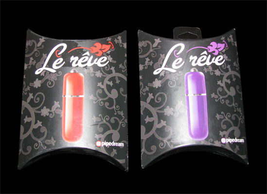 Actual One touch push button control, waterproof Le Reve bullet vibrator